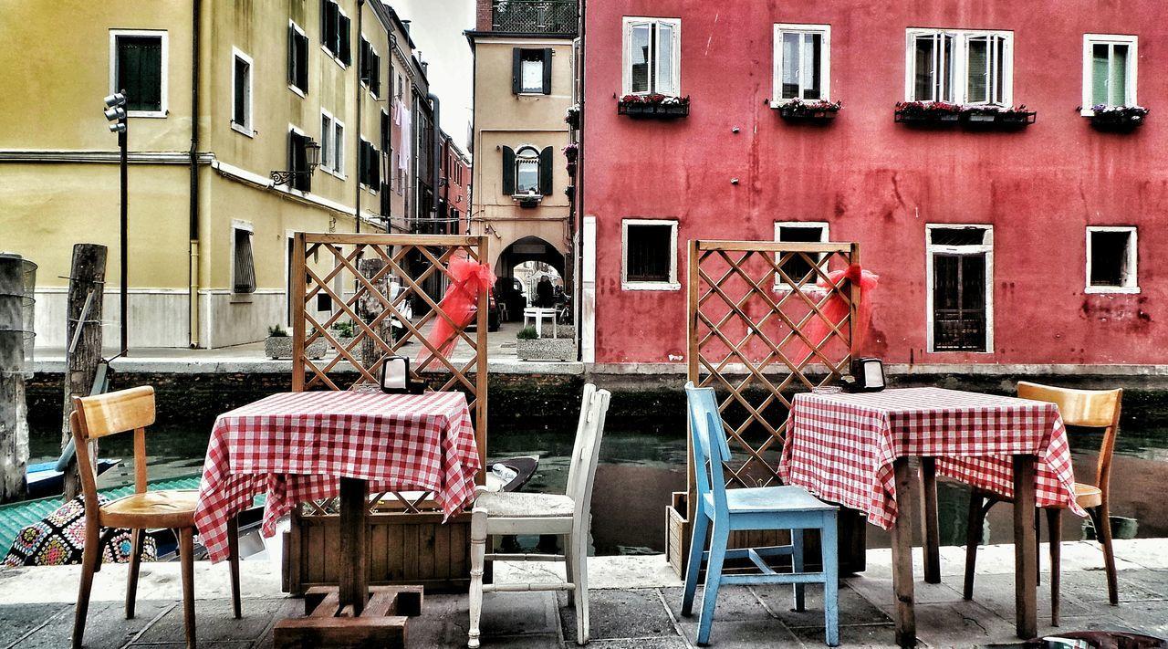 Chioggia, Italy Chair Table City Outdoors Venexia Veneto Italy Holidays