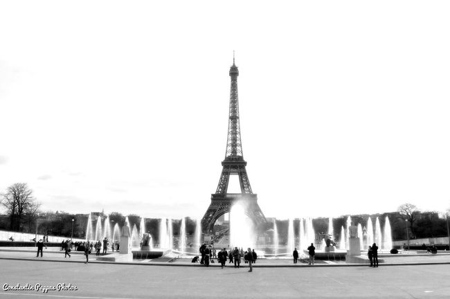 Paris Paris ❤ Paris, France  Eiffel Tower Tour Eiffel Blackandwhite Black And White Photography Black And White Blackandwhite Photography