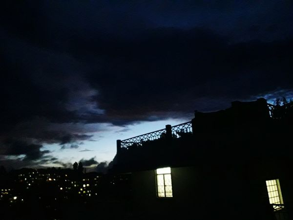 Architecture Night Built Structure Low Angle View Building Exterior Dramatic Sky No People Sky Outdoors Illuminated Thunderstorm Cloud - Sky Lightning Storm Cloud Nature Beauty In Nature Meghalaya Shillong