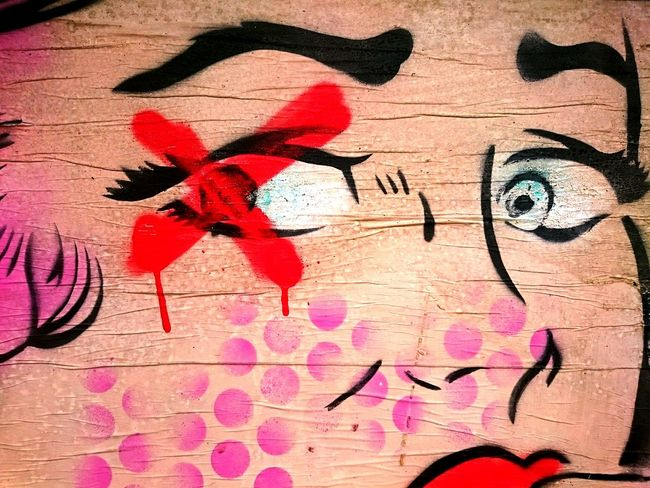 Graffiti Wall - Building Feature Art Creativity Street Art Building Exterior Multi Colored Amusement  Posters Brighton Urbanphotography Mural Textures And Surfaces Aerosol Graphic Full Frame Painted Image City Life Street Photography Communication Face Eyes Eyes Wide Open