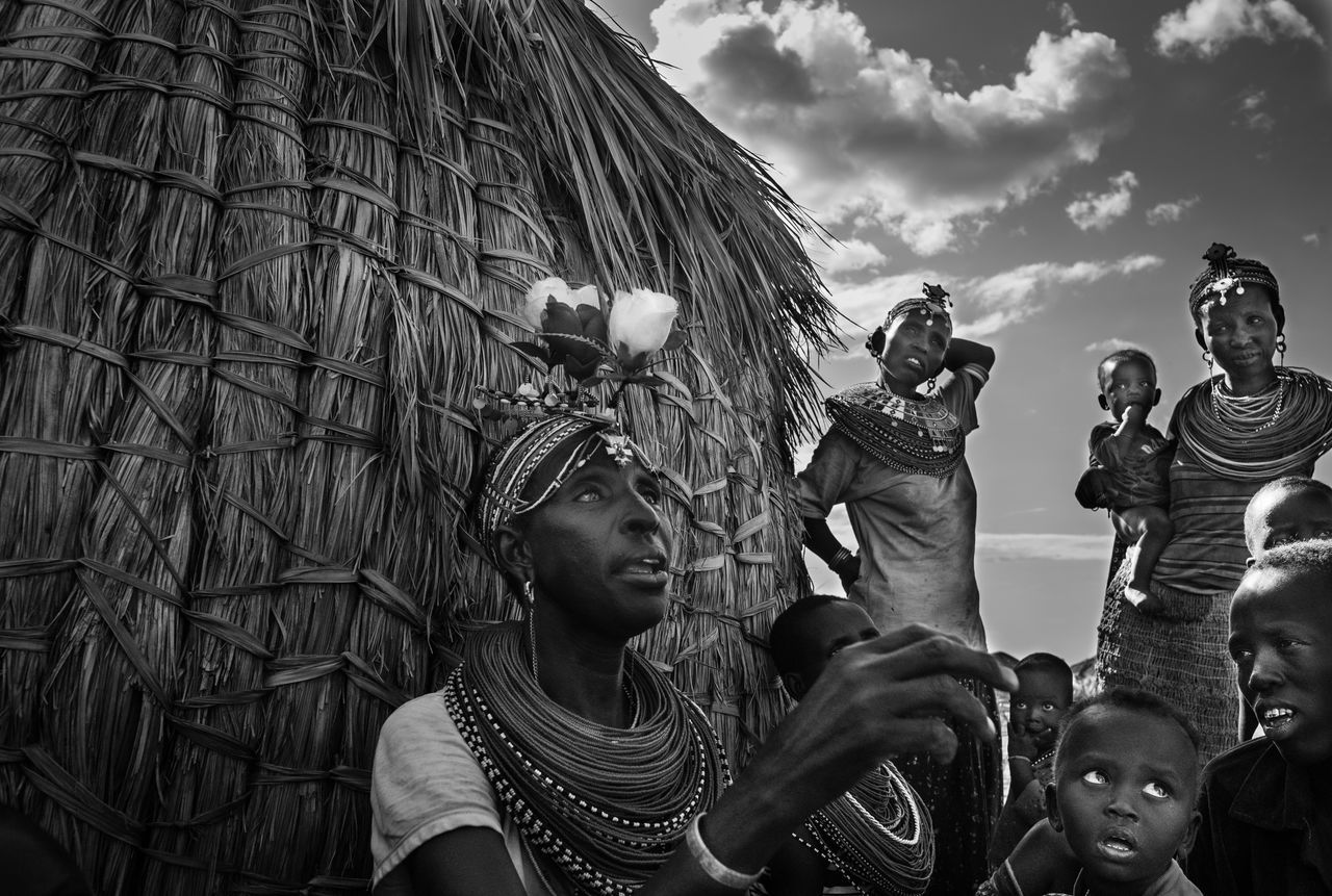 Tribe Africa Black & White Blackandwhite Photography El Molo People Kenia Kenya Kids Lake Turkana Portrait Tribal Village Village Village Life Village Photography