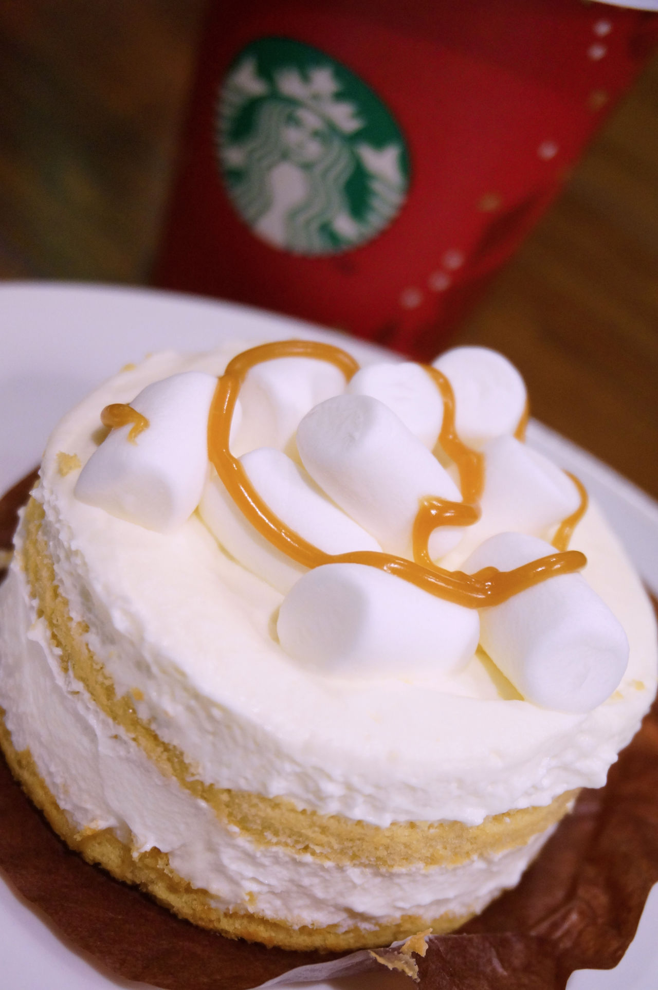 2013 Cake Cream Desserts Marshmallow Starbucks Starbucks Coffee Sweet クリーム ケーキ スターバックス マシュマロ