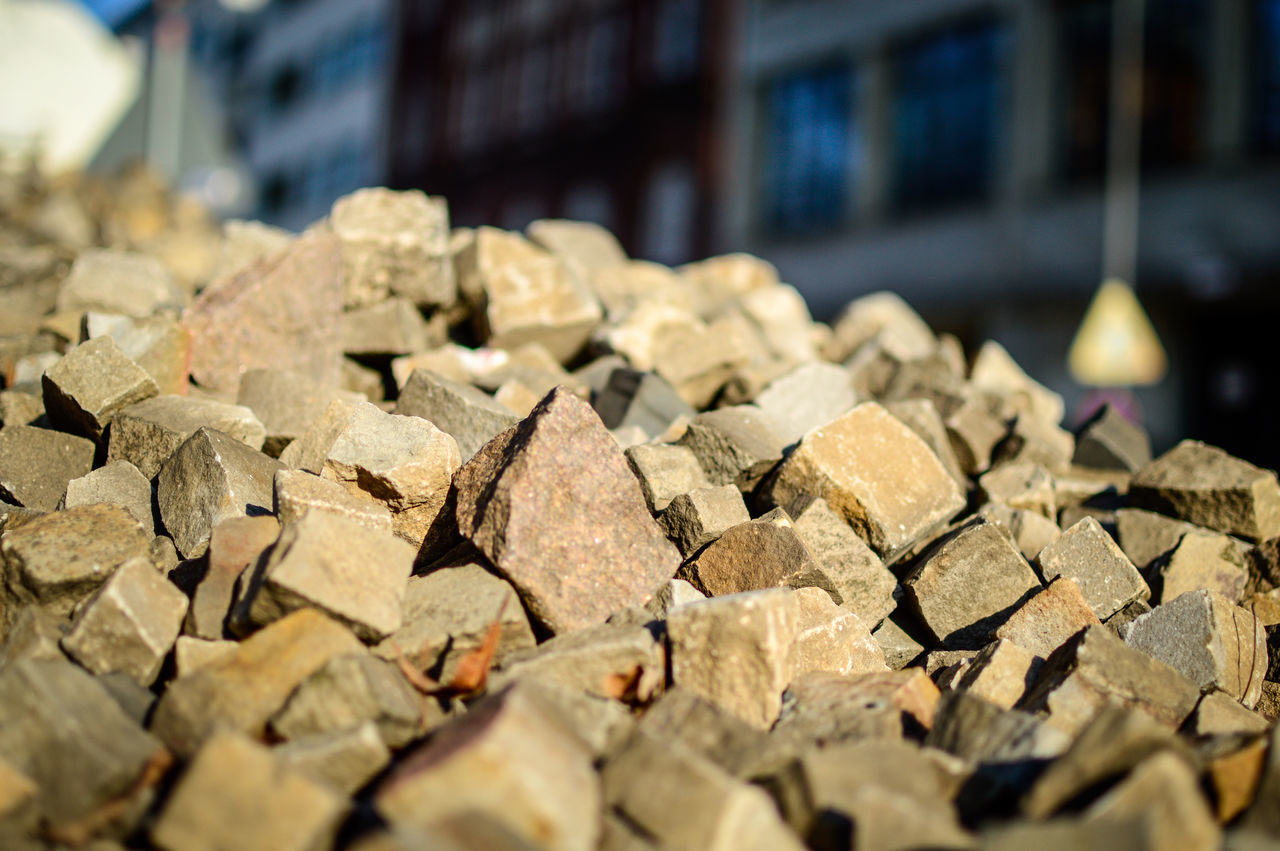 Watch your step 1/2 Abundance Backgrounds Close-up Cobblestone Cobblestones Day Focus On Foreground Large Group Of Objects No People Outdoors Paving Stone Paving Stones Stack Stone Stone Material Stones