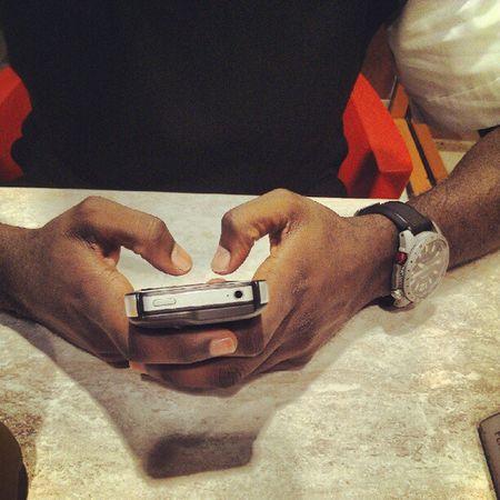 IPhone Fossilwatch @mjayfarah