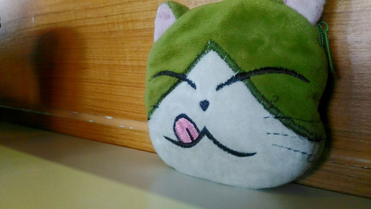 Cat Purse Coinpurse Kitty Money Smile Happy Cat