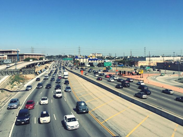 Los Angeles's traffic from Metro's view. Losangelestraffic LAtraffic Freeway Traffic Freeway Scenery Freeway Landscape Freewayphotography Metroview Viewfrommetro Viewfromthetrain Viewfromthewindow