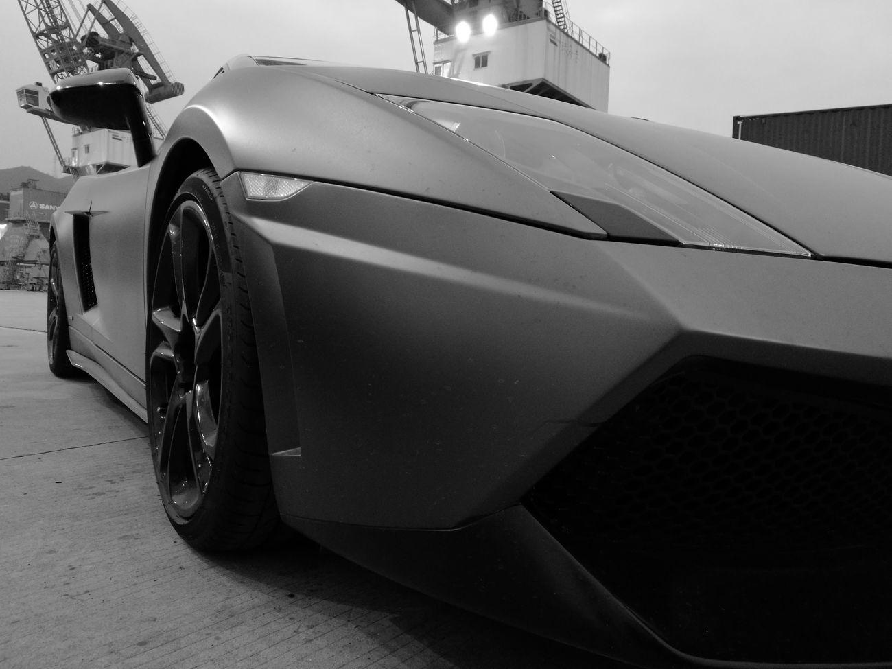 Lambo on TV show set Speed Car Racecar Zhuhai Tv Show