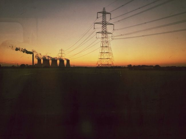 Sunset near Doncaster and Industrial works. Sunset_collection