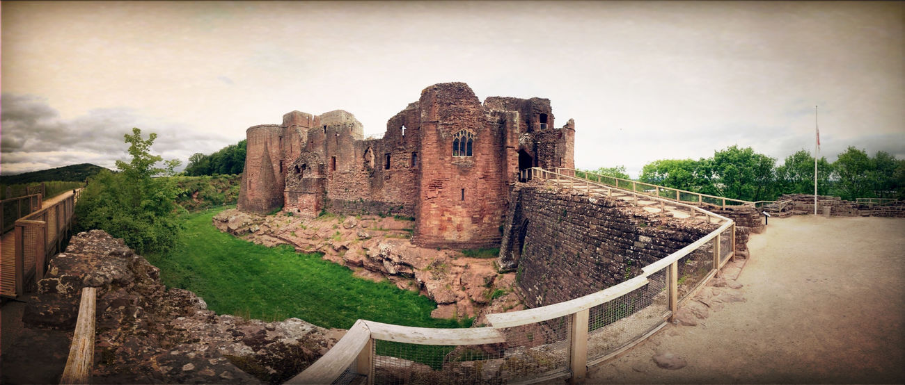 Castle Panorama Ruins 180°