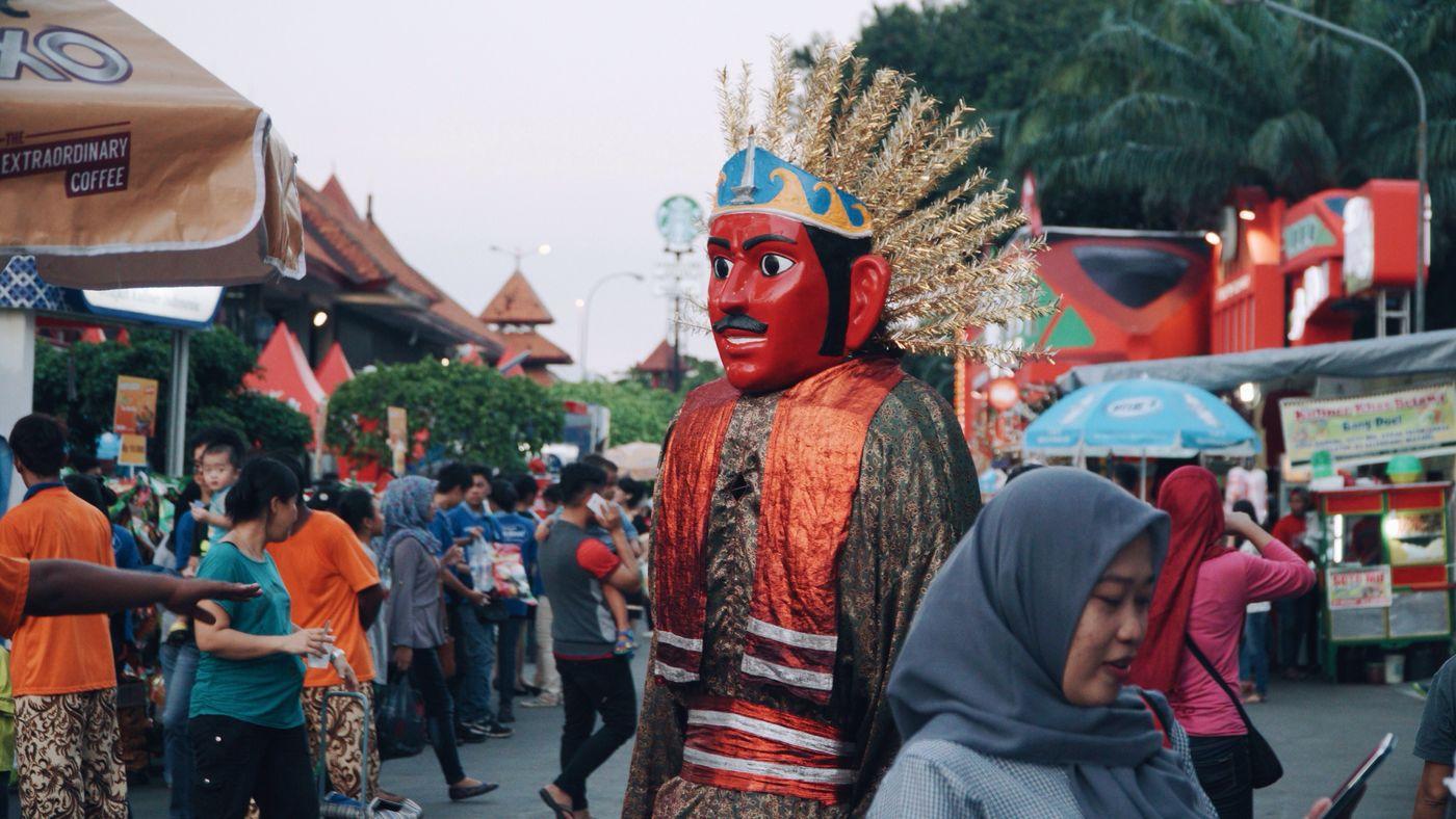 Ondel ondel People Streetphotography Culture INDONESIA Jakarta
