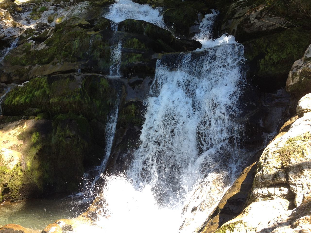 Giessbachfall Photography July 2015 Switzerland Beauty In Nature Day Forest Motion Nature No People Outdoors Power In Nature Roaring Waterfall Rushing Water, Scenics Unique Beauty Water Waterfall