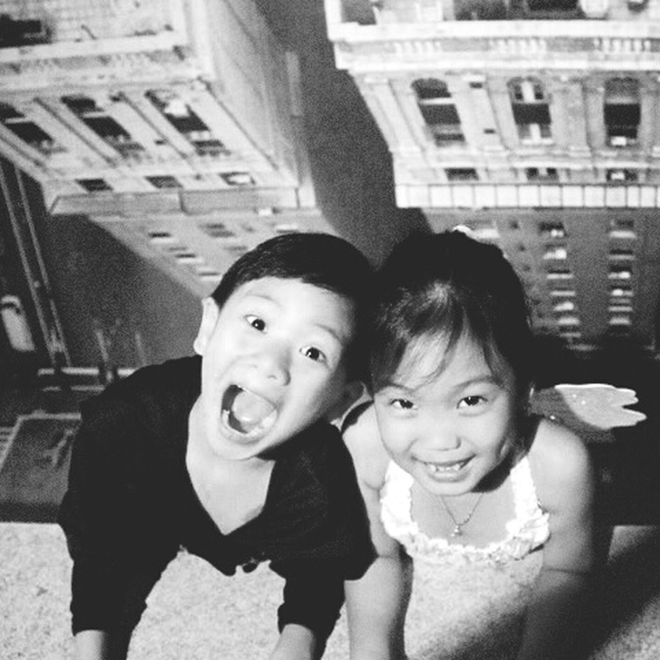 Throwback! they used 2 b the cutest... now they aren't.. hahahaha.. Kids Being Kids Playtime Buddies Cousins ❤ Ohanameansfamilyandfamilymeansnobodygetsleftbehind