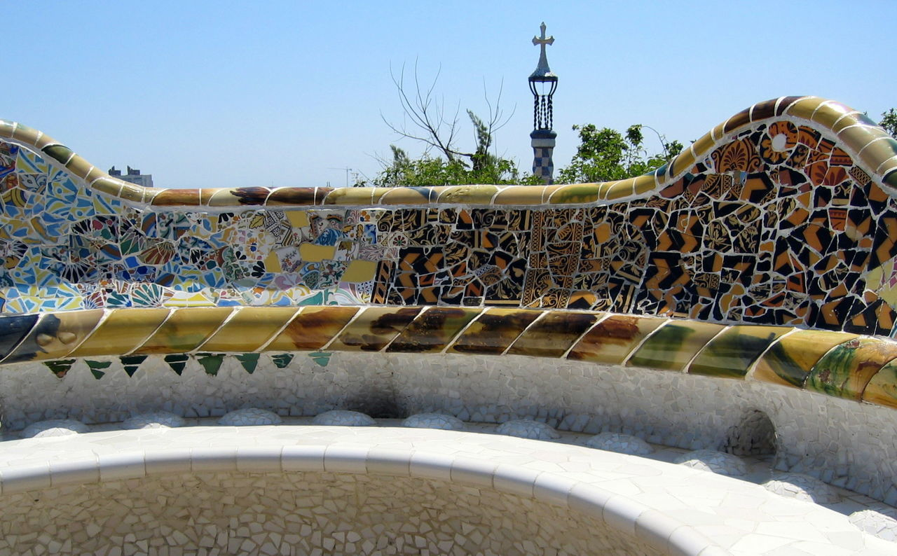 Architecture Barcelona Clear Sky Day Gaudi Nature No People Outdoors S Sky