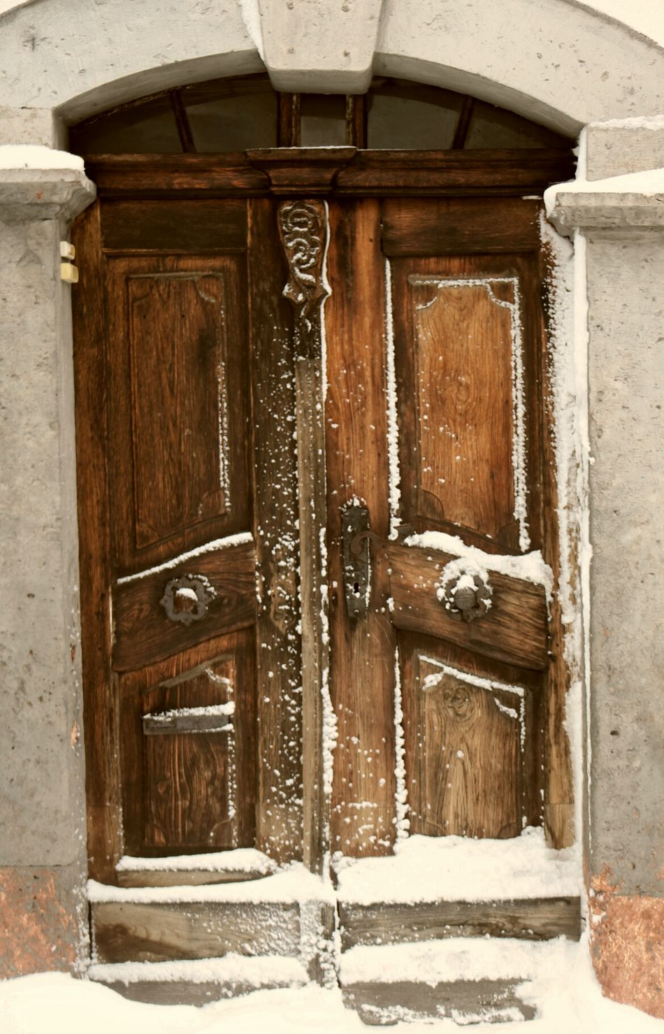 No Entry For Winter House Outdoors Closed Built Structure Door No People Day Wood - Material Front Door Close-up Architecture Wintertime Winter Snow The End Of Winter ❄❄❄