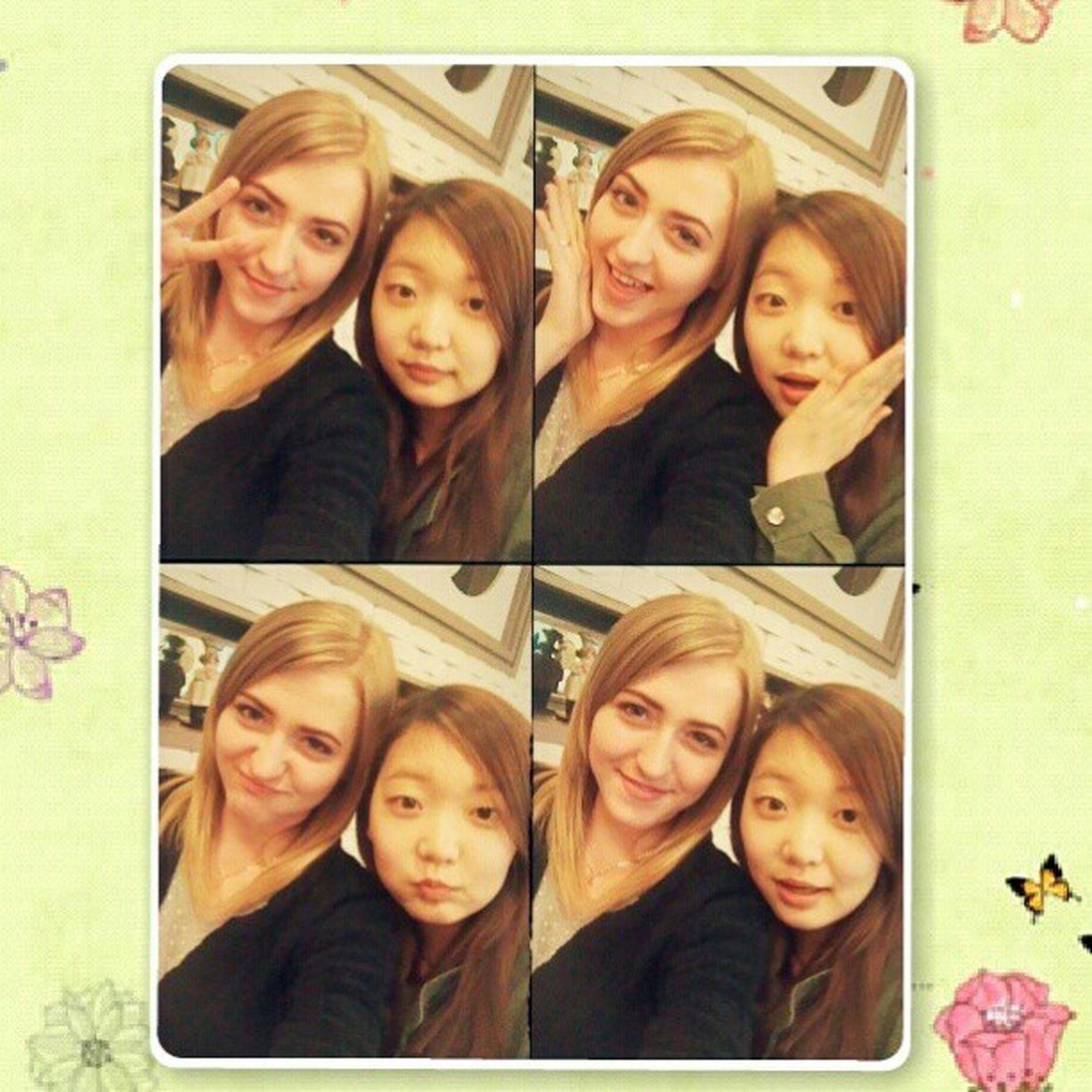 전세계야, 바보야 ㅋㅋ Spring Korea Mrpizza Friends girls