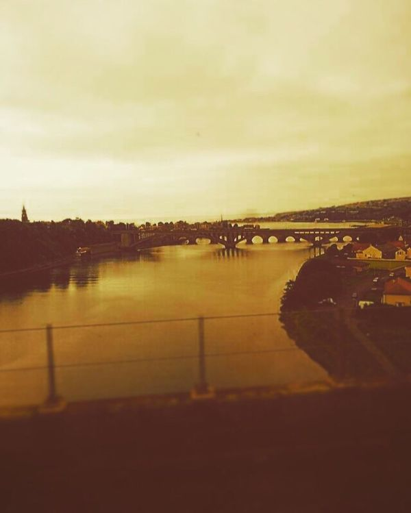 Train Journey River Bridges Berwick