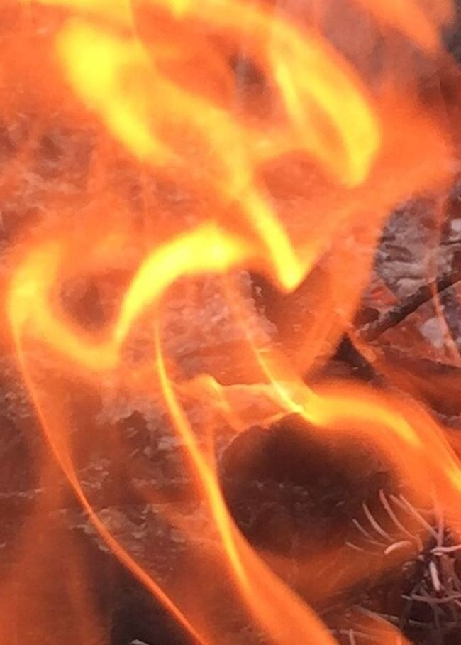 Spectral images in the camp fire Close-up Flame Glowing Orange Color Ethereal Extreme Close-up Apparitions Smoke Spectral (null)Campfire Other Dimensional Being