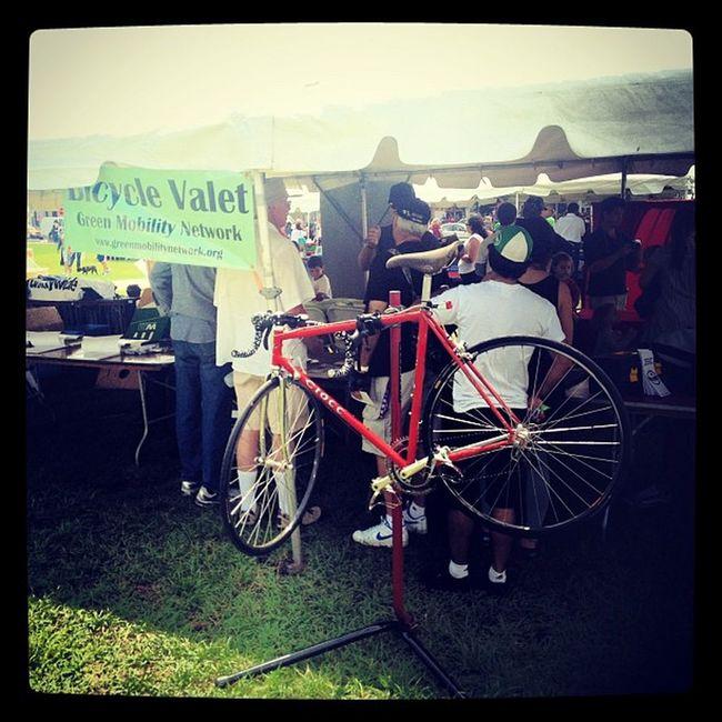 Bicycle Valet at Philanthrofest