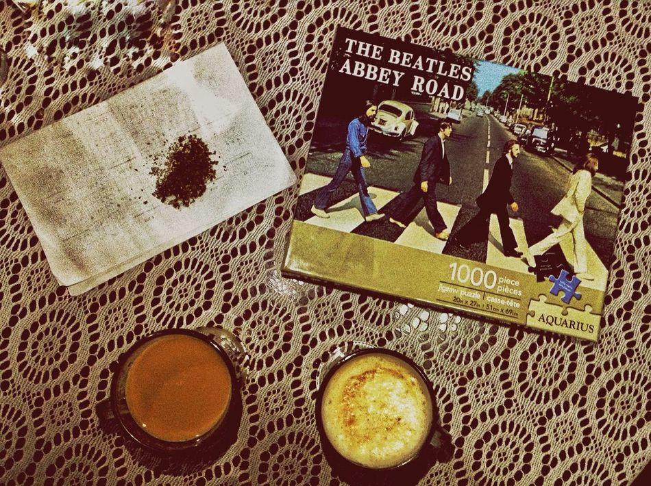 Coffee At Home Café Y Rompecabezas Friends And Coffe Ganja Ganjareta