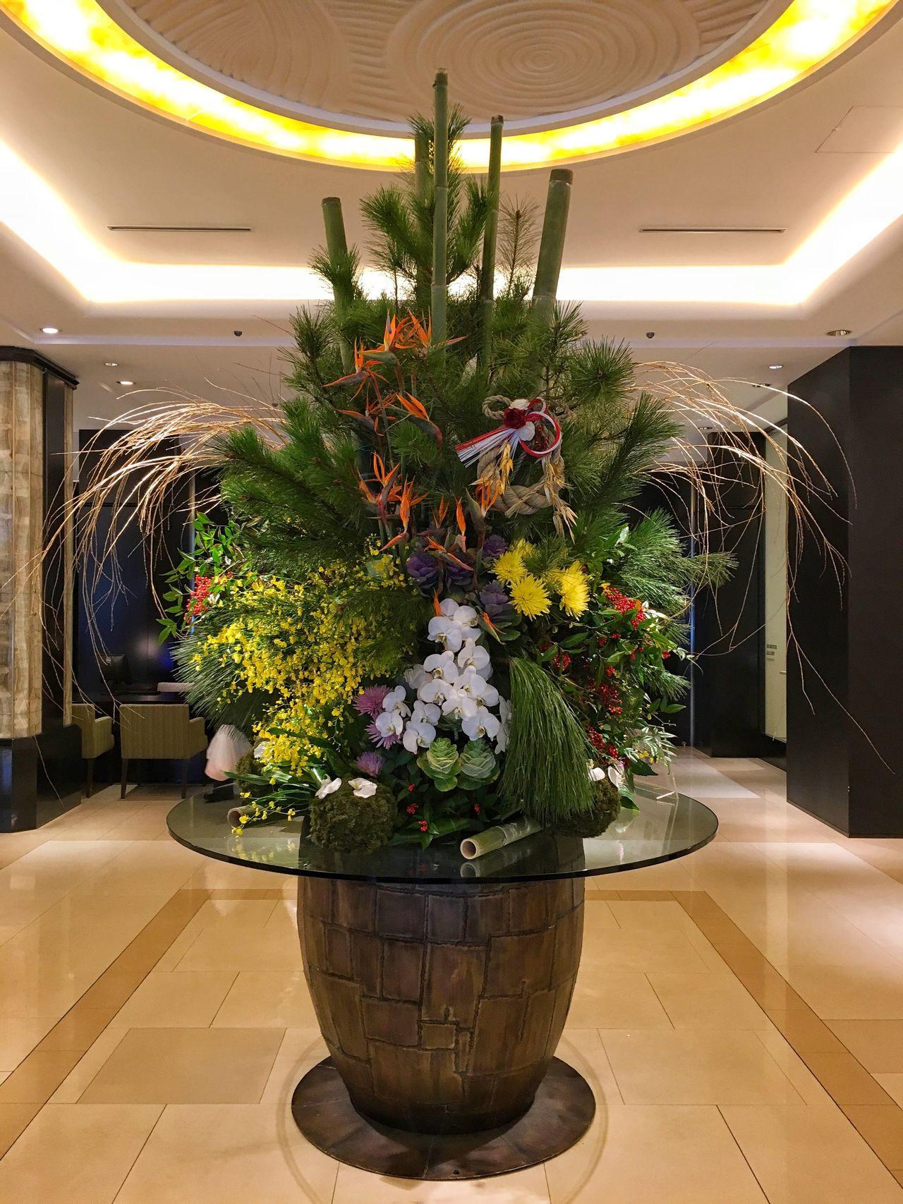 Flower Plant Indoors  Modern Hotel Hotel Lobby Decoration Decorations Decorative Sapporo Sapporo-shi Sapporo,Hokkaido,Japan