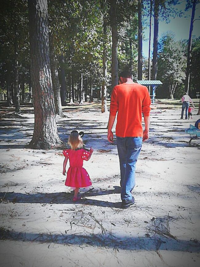 A Walk In The Park A Walk To Remember A Father's Love Daddy's Little Girl Precious Moments Good Conversation