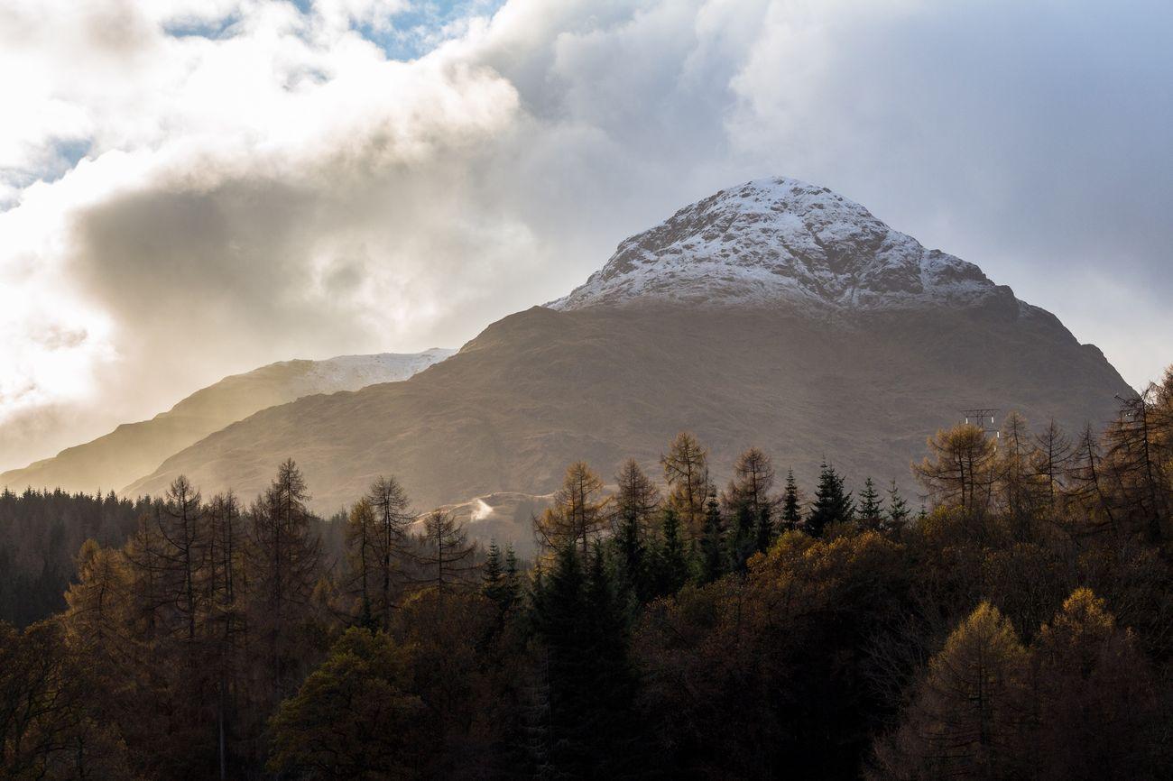 A' Chrois from Inveruglas. Loch Lomond. LochLomond Scotland Mountain Mountains I Love Scotland Eye Em Scotland Eyeem Scotland  Snow