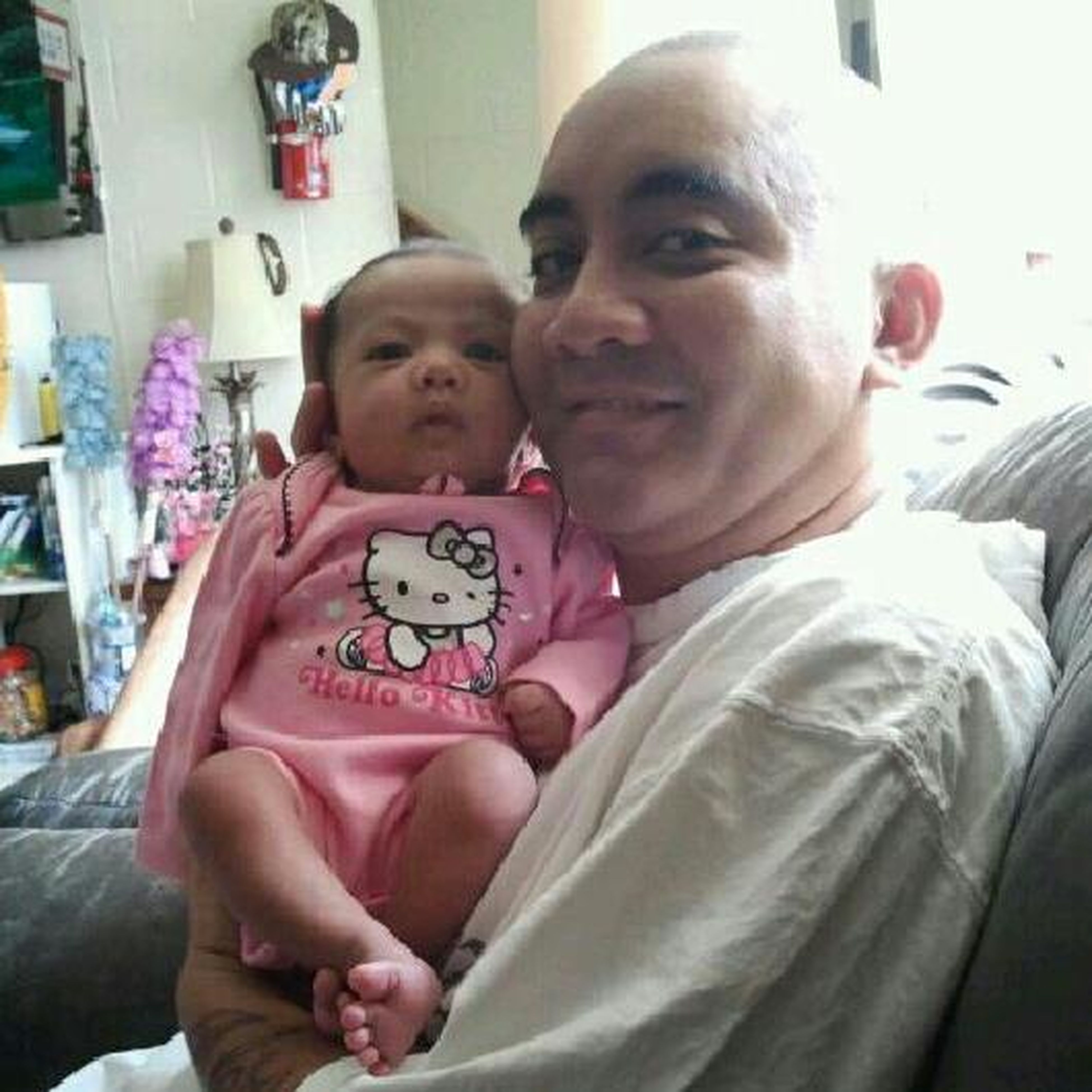 Me N My Niece Baby Alize Wen She Wuz 1 Month Old!!