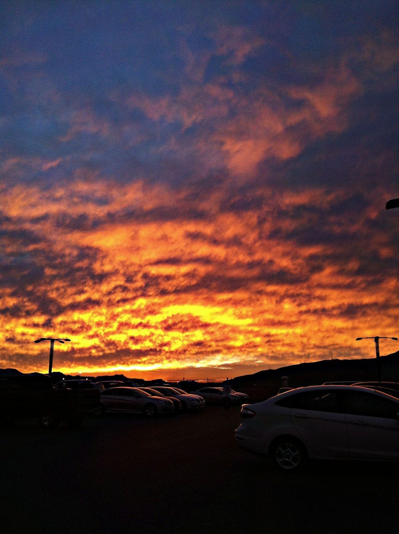Sunset Nofilter Orange Hue