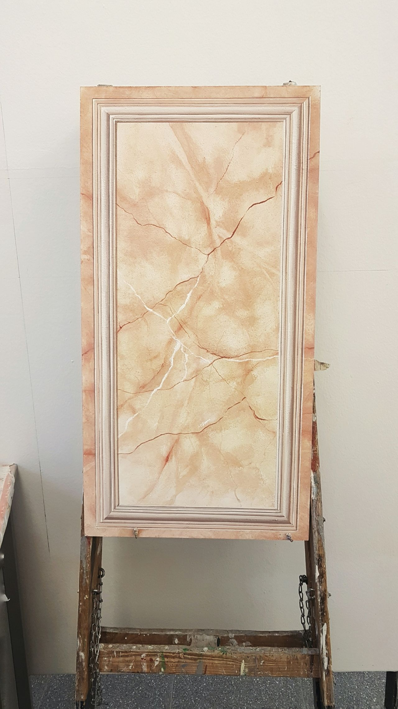 Textured  Indoors  Close-up Day No People Sunlight Warm Light Room Decor ThatsMe Frame It! Frame Marmor Stone Material Stone - Object Painted Image Painted ArtWork Art Artistic Artistic Photo Frames Enjoying The View Light And Shadow Decoration Painting Art