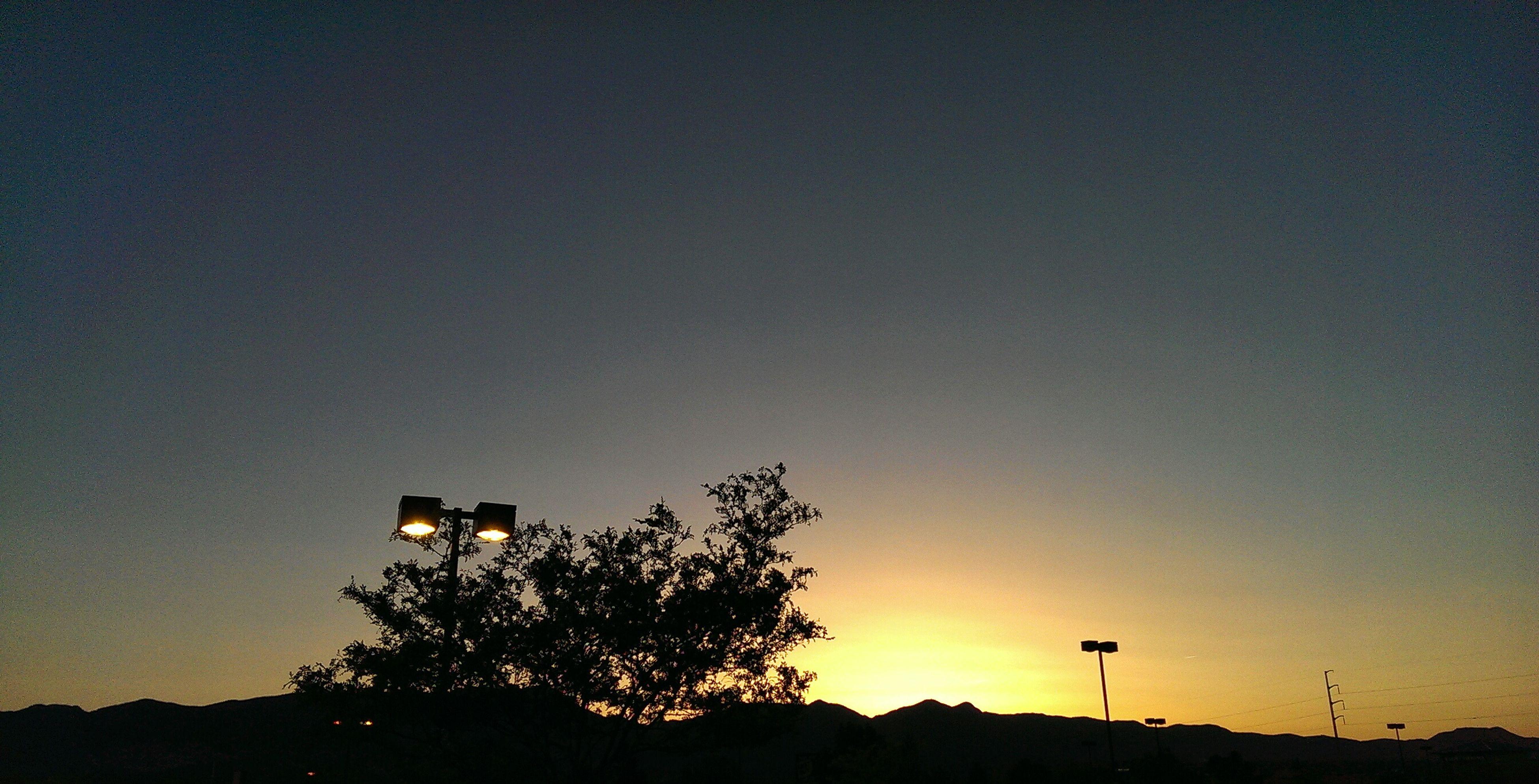 Sunset Silhouette Sunset Silhouettes Landscape
