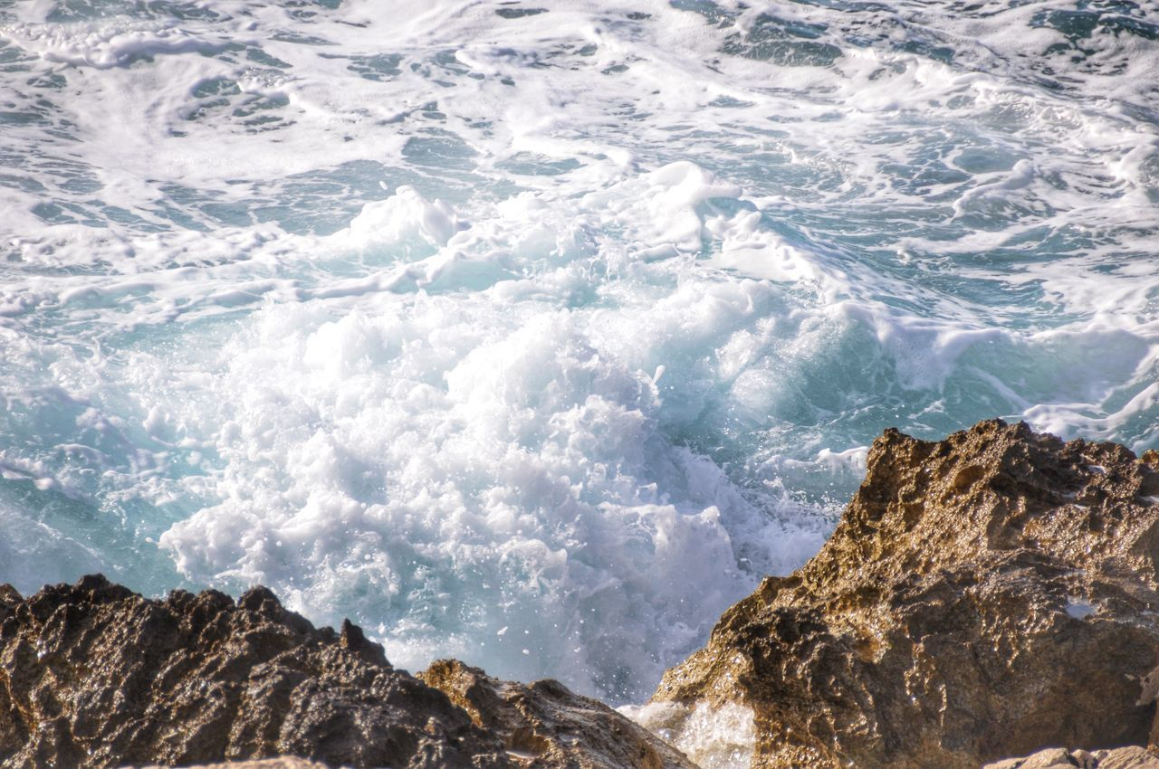 Beautiful stock photos of surf, Day, Geology, High Angle View, Nature