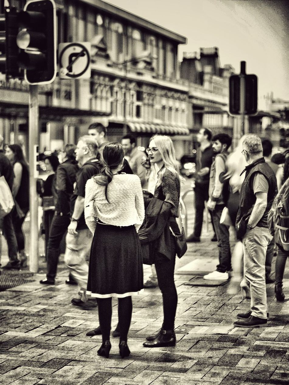 Street photography Streetphotography Real People Street City Group Of People Black And White Photography Black And White Black & White Street Photography Blackandwhite Western Australia Lifestyles Women People Crowd Welcome To Black