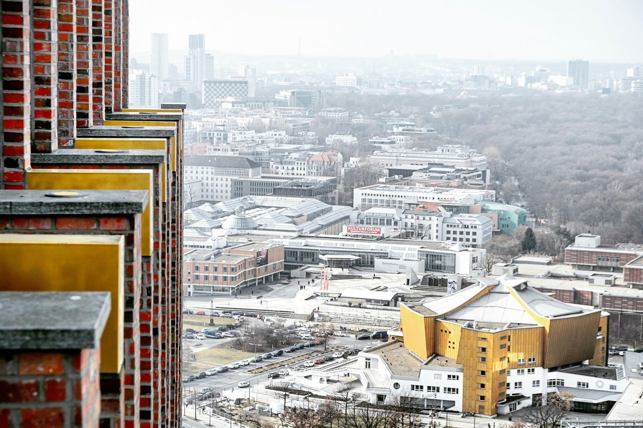 Berliner Philharmonie Architecture Building Exterior City Built Structure Cityscape High Angle View Outdoors Residential Building Travel Destinations No People Day Winter Sky Berlin Berliner Ansichten Berlin Photography Berliner Philharmonie