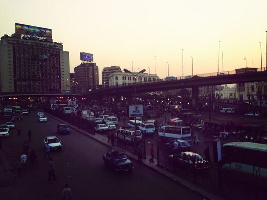 Public Transportation at Ramses Railway Station by Mohamed Abdo