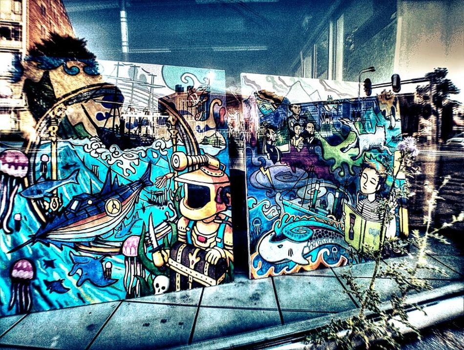 Streetphotography Art Pirates Mathiue Keuter Van Lewenborg