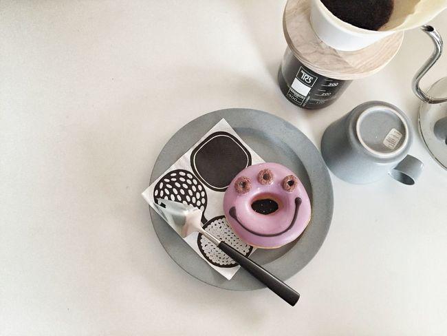 クリスピークリーム クリスピークリームドーナツ KRISPYKREAMDONUTS KrispyKream イイホシユミコ Marimekko マリメッコ Coffee