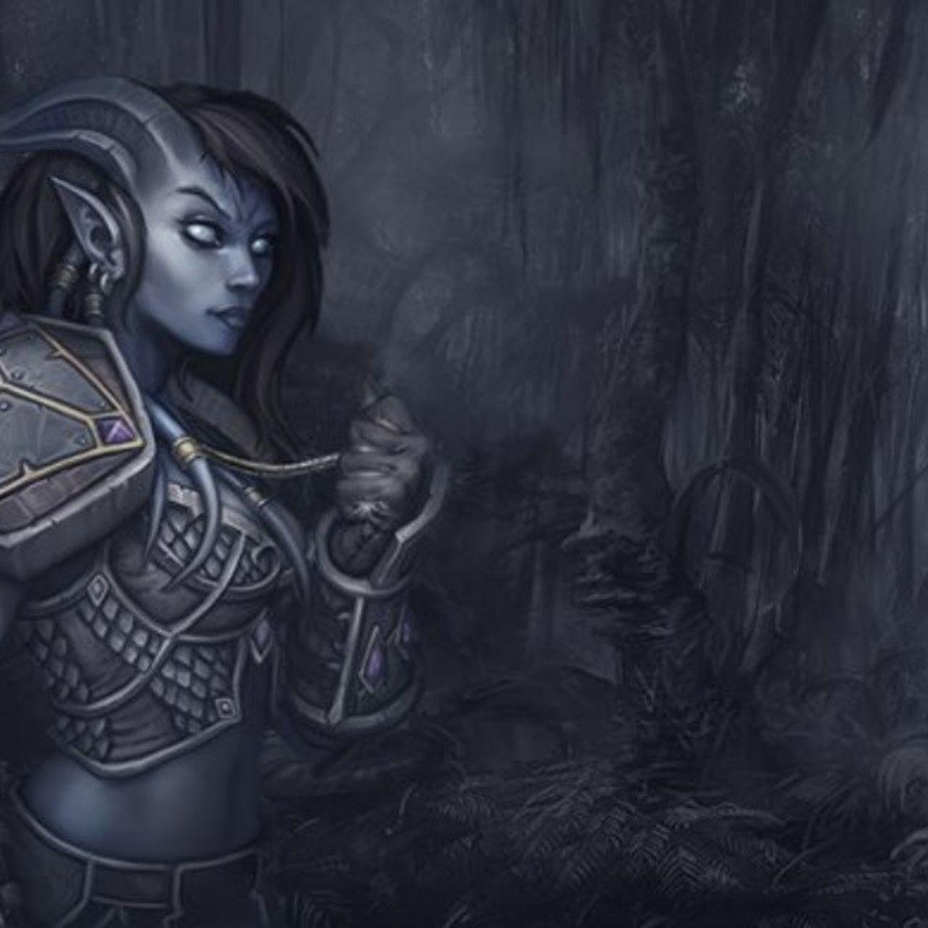 Warcraft Photoshop WOW Job Manipulacao Visual Lembrando um velho trabalho.
