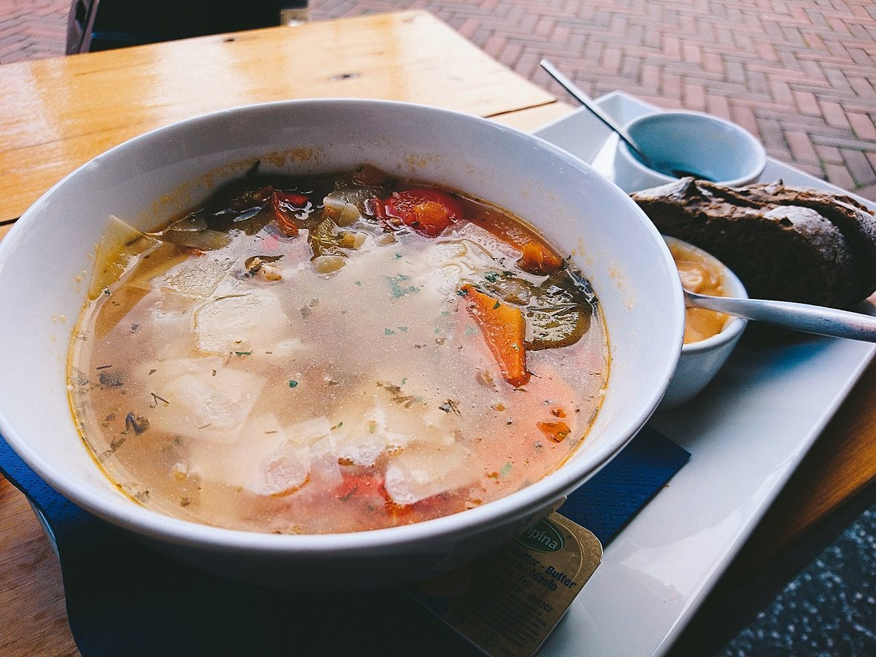 Hving A Soup Lunch Time! Fish Soup Bouillabaisse Boulabaise Foodspotting Food Photography Tasty Foods Seafood Lovers