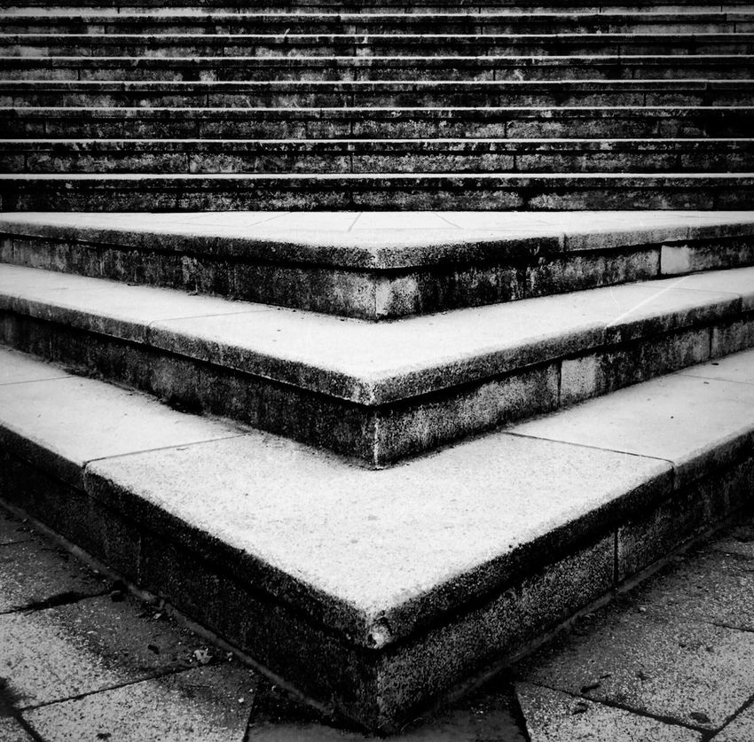 Technoseum, Mannheim Built Structure Steps No People Steps And Staircases Outdoors Day Architecture Close-up Museum Streetphoto_bw Architecture Mannheim Technoseum Stairs City The Architect - 2017 EyeEm Awards The Week On EyeEm