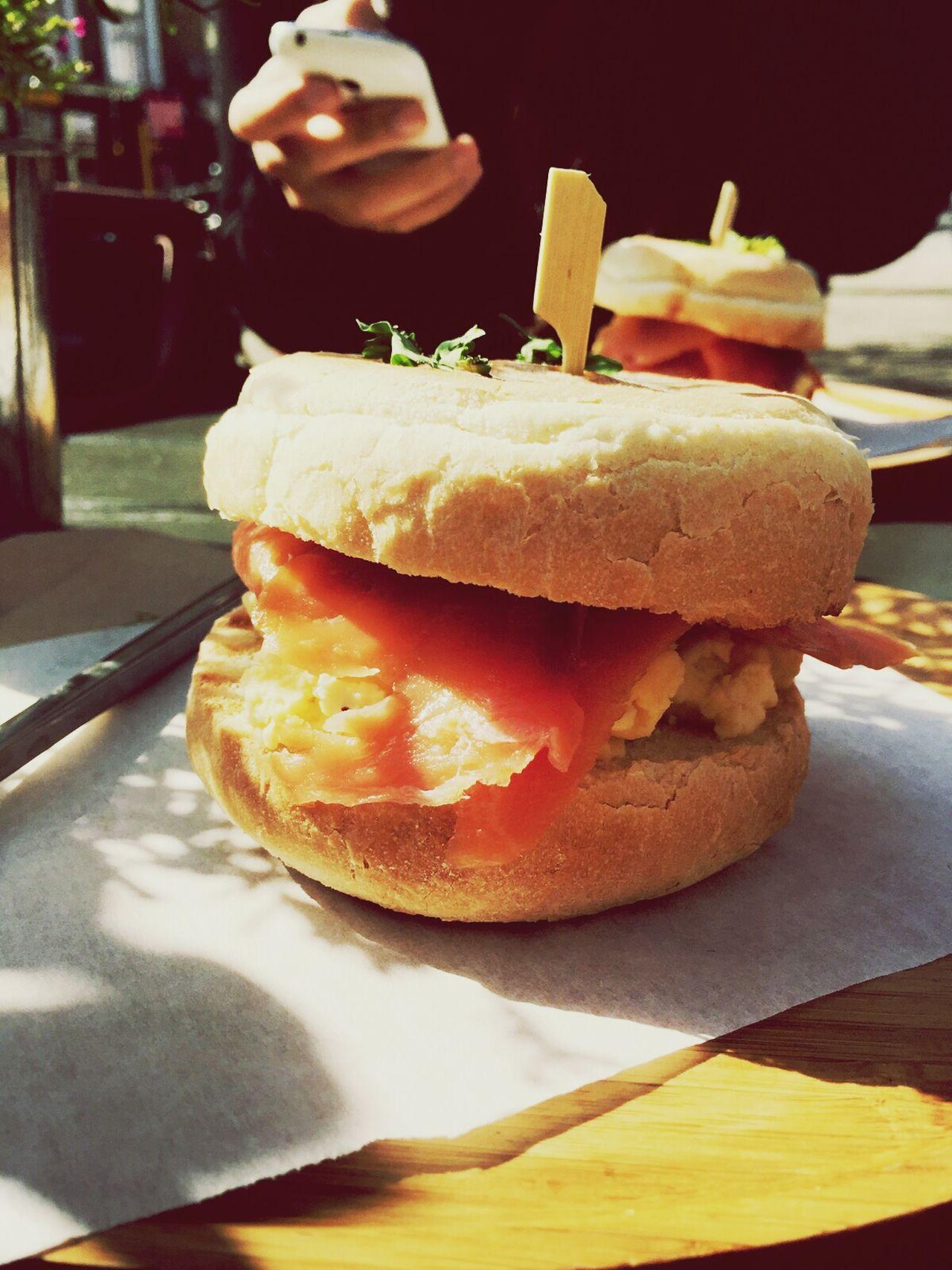 London Breakfast Scrumbleeggs Muffin Sunday Morning