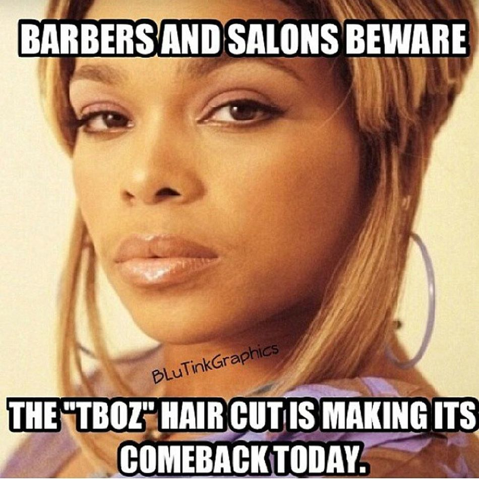 Sigh Yeah it is... TLC CrazySexyCool TheTLCstory CrazySexyCoolTheTLCstory TBoz TheTBozHairCut