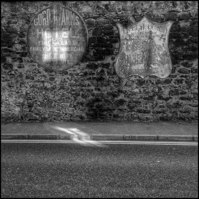 Advertising Light Design Scotland Flaneur Textures And Surfaces Historic Elgin Shades Of Grey City Urban Artifacts Urban Exploration Urban Decay