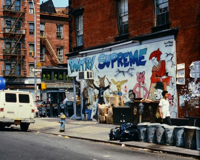 EyeEm Selects Painted Image Art And Craft Architecture Street Streetphotography Graffiti New York 1985 Analogue Photography Digitised
