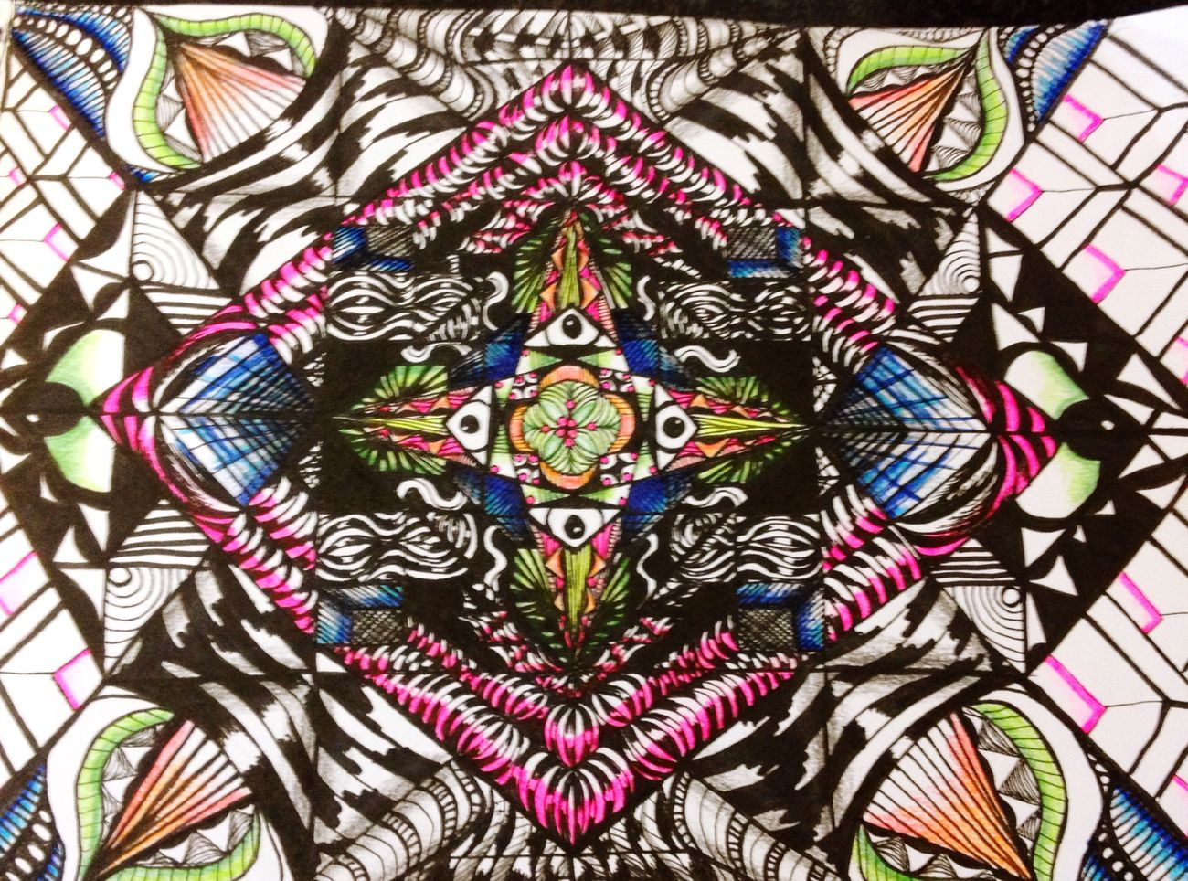 Zentangle Tangle Art Art Therapy