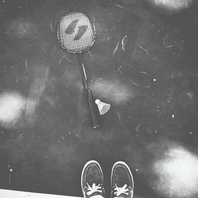 Blackandwhite Badminton