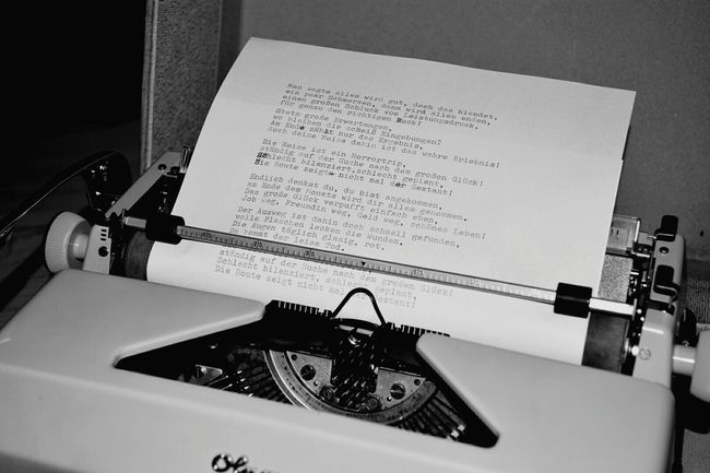 Open Paper Close-up Memories No People Lyrics Lyricalartistry Lyrics In My Head Lattengerade Typography Typewriter Blackandwhite Letters Typo Around The World Typo Fears Ink Inkonpaper Socializing Pressure Iron Germanlanguage Openyourmind
