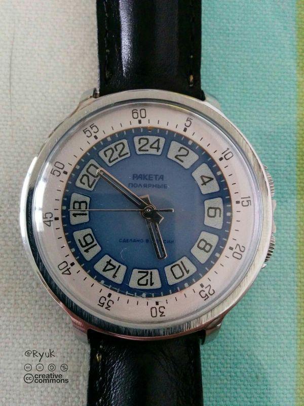Streamzoofamily TheVille Old Watch Watch Raketa Paketa Wristwatch