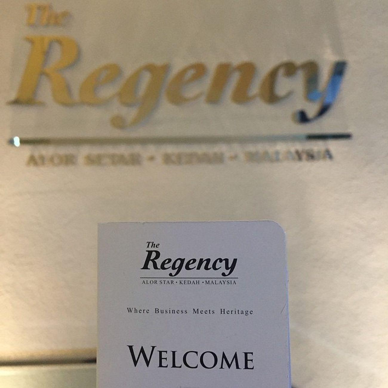 Merehatkan diri... Rest Regency Hotel Alorstar malaysia