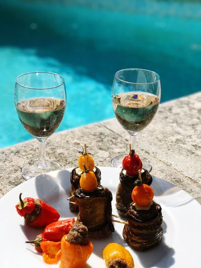 Wine Not Food And Drink Drinking Glass Wine Drink Alcohol Wineglass No People Food Close-up Day Ready-to-eat Piscine Alpes-de-Haute-Provence Opedette Amazing Place Amis  W-end