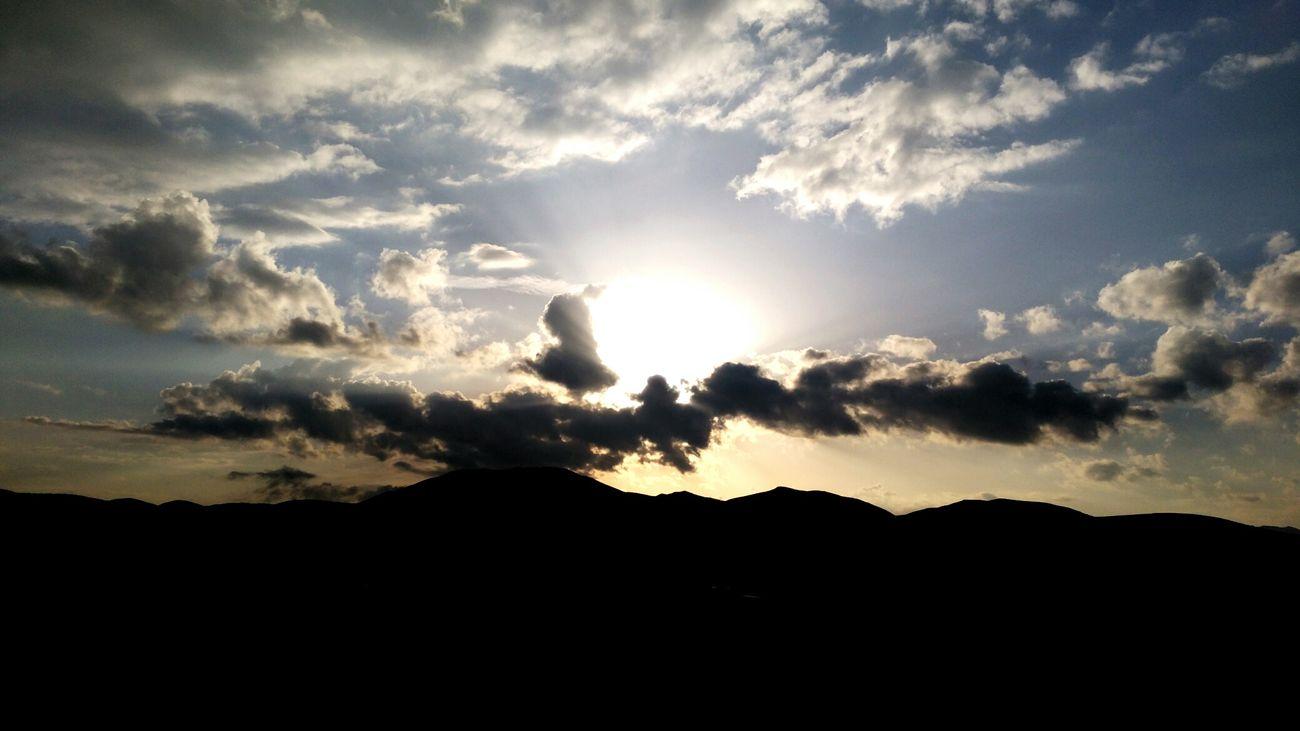 Sunset Mountain Outdoors Landscape Nature Beauty In Nature Dramatic Sky No People Cloud - Sky Scenics Sky Day Vodafone Smart Ultra 6 Türkiye Turkey Burdur Nature Ilkbahar Welcome To Black